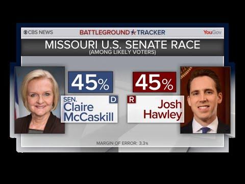 Missouri Democrat Claire McCaskill battles to keep Senate seat