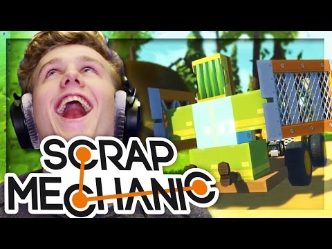 THE FRUIT WAGON!! | Scrap Mechanic W/Lachlan & MrMEOLA