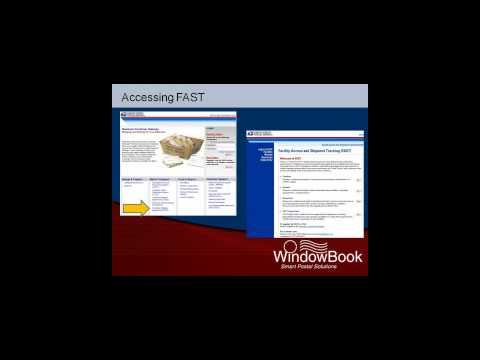 FAST: Appointments for Drop Shipping - Window Book Inc. (09/08/11)