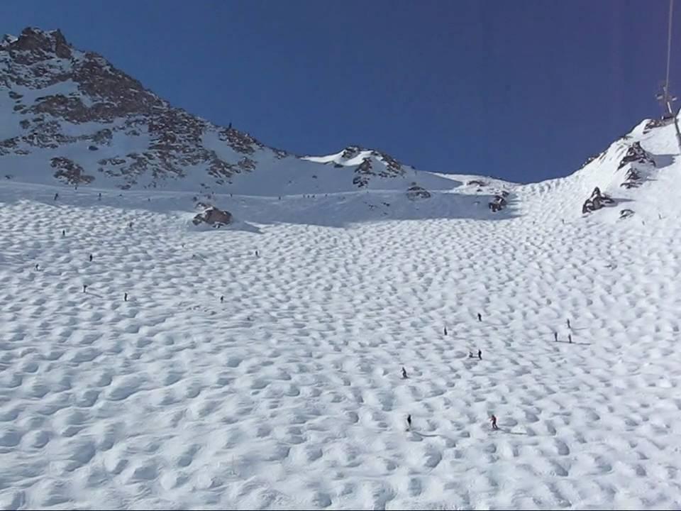 Tortin ski route, Verbier