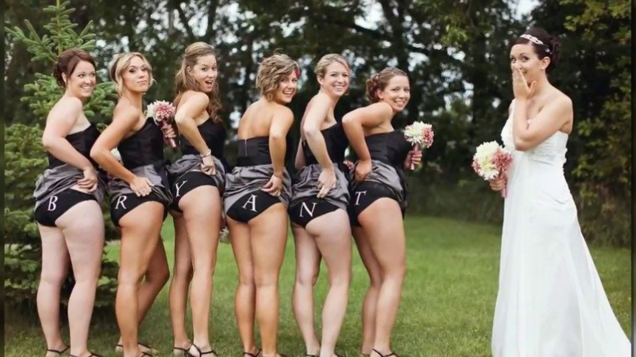 Wedding photos nude