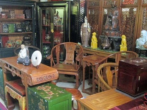 Golden Lotus Antiques store tour 3