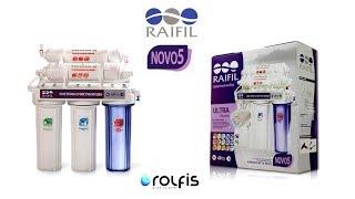 Обзор Raifil™ NOVO 5  ➠ Фильтр с капиллярной мембраной  ➠ Преимущества и недостатки