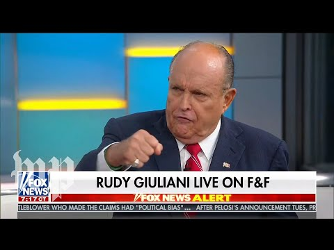 Rudy Giuliani's Wild Week Of Television Interviews