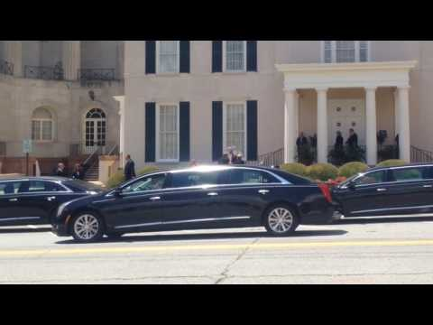 Cher Arrives At Gregg Allman Funeral