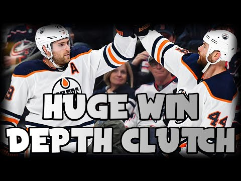 Depth Players Come Up Huge For Oilers In 4-1 Win! | Edmonton Oilers Vs Columbus Blue Jackets Review