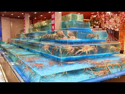 Khám phá nhà hàng Hải Sản lớn nhất Bắc Ninh, nhiều hải sản cỡ nào