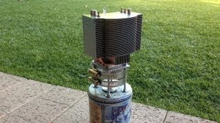 Thermoelectric Generator Lamp