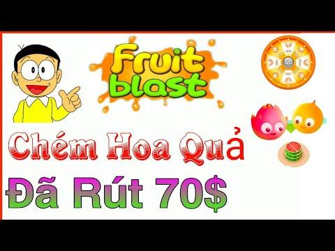 Kiếm Tiền Online – Đã Rút 70$ Go Fruit Chơi Game Chém Hoa Quả Kiếm PayPal Miễn Phí