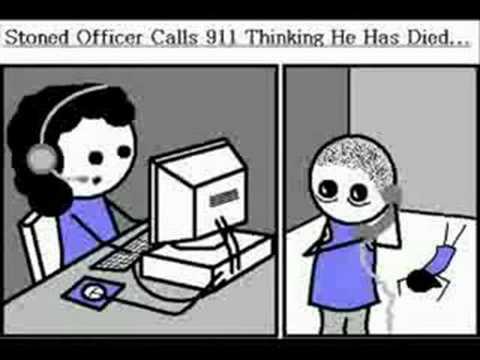 Cop eats pot brownies and calls 911 (full version)