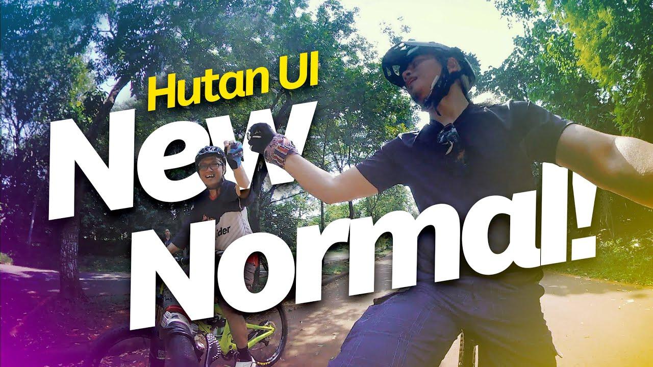 New Normal Ride at Hutan UI Bike Park