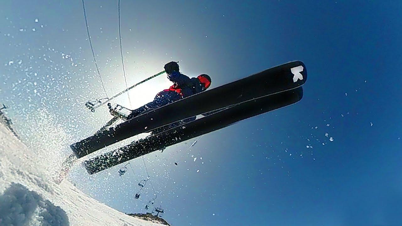 Fin de temporada en Valdesquí 20-21. Saltos, wedeln y diversión esquiando.  VLOG 54