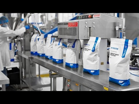 Myprotein | Quality Supplements | Behind The Scenes Unseen Production Facility Footage