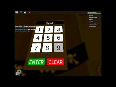 roblox normal elevator code 2019
