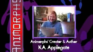 K. A. Applegate's first ever webcast about Animorphs - December 18, 1999 - Full
