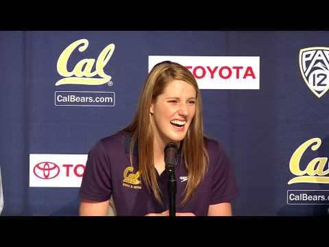 Cal Swimming & Diving: Missy Franklin Press Conference (8/28/13)