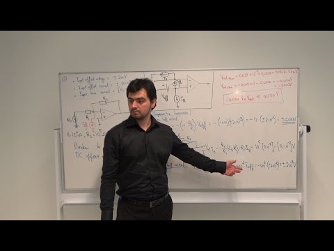 ELONA1 Elektronica Op-Amp's - Les 7 - Nonideal Op-amp Circuits, Mehmet Can, HHS Delft