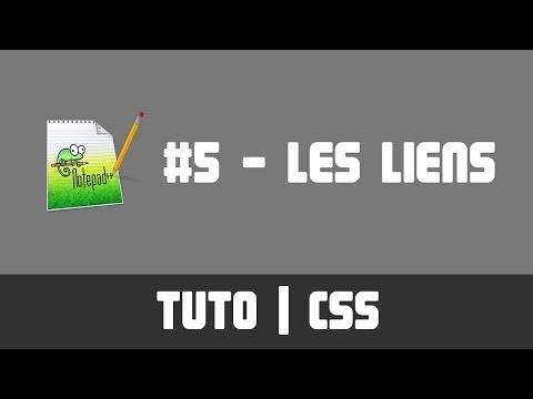 TUTO CSS - #5 Les Liens
