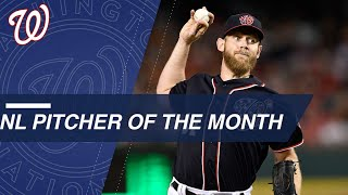 Pitcher of the Month: Stephen Strasburg