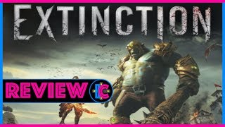REVIEW / Extinction (Video Game Video Review)