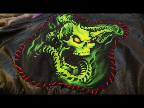 DIY: Make Your Own Original Punk/Metal/Goth Vest! Easy and Inexpensive!