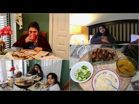 Vlog : Managing  A Sick Day & Prepared  A Quick Lunch  | Simple Living Wise Thinking
