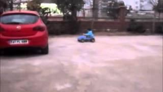 Arda 4 Yaşında Süper Araba Kullanıyor..!