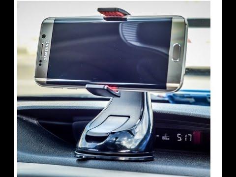 universal smartphone halterung auto kfz windschutzscheibe armaturenbrett youtube. Black Bedroom Furniture Sets. Home Design Ideas