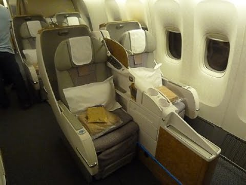 Emirates Business Class - Geneva to Dubai (EK 90) - Boeing 7