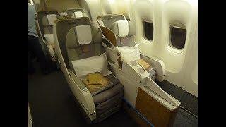 Emirates Business Class - Geneva to Dubai (EK 90) - Boeing 777-300ER