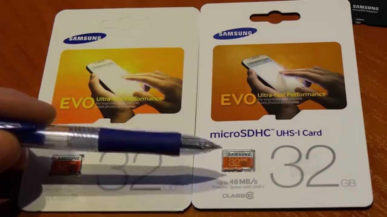Fake Vs Original Samsung Evo 32gb Micro Sd Card