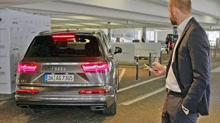 видео: Автоматическая парковка Audi Q7 2018 тест-драйв