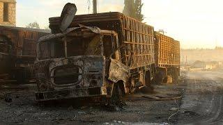 США: автоколонну ООН в Сирии разбомбили российские Су-24