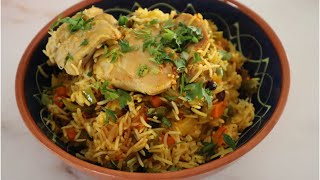 One Pot Rice with Chicken Recipe - Episode 508 - Baking with Eda