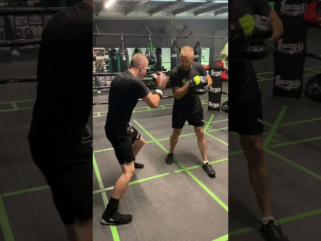 Boxing Padwork drills