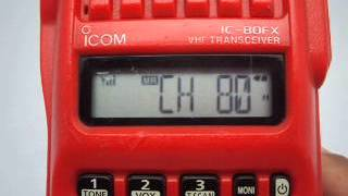 icom ic 80fx test 18 01 2015
