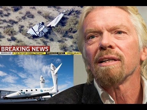Richard Branson talks to CNN after Virgin Galactic crash 'Space Travel Risks are worth it'
