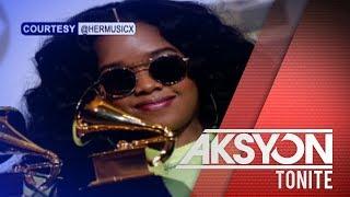 Fil-Am singer na si HER, nakasungkit ng dalawang Grammy awards