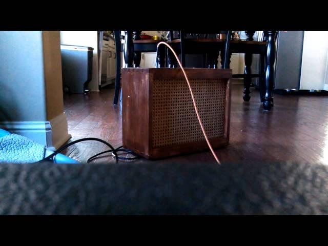 Homemade Amp Cabinet