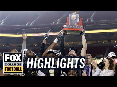 Arizona vs Purdue | Highlights | FOX COLLEGE FOOTBALL