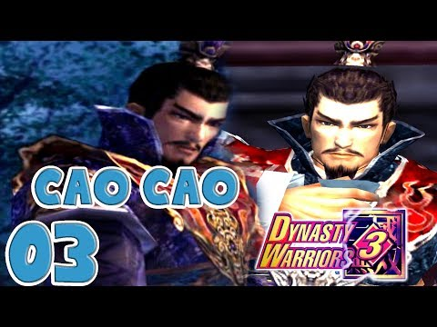 Let's Play Dynasty Warriors 3 Cao Cao 03: Drunk at Wan Castle ONE Shao at Guan Du #KTFamily