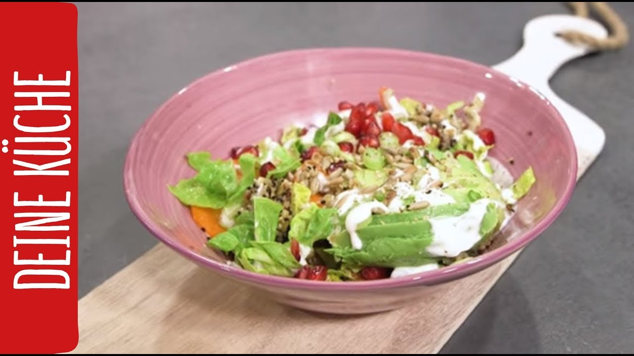 Bowl Küche | Trendige Quinoa Salat Bowl Rewe Deine Kuche Youtube