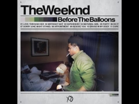 Lost Mixtape: Before the Balloons–The Weeknd