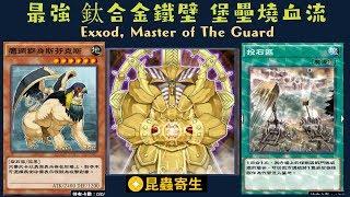 【遊戲王 Duel Links 】302 守護神艾克佐德Exxod, Master of The Guard 鷹頭獅身斯芬克斯Hieracosphinx 投石區Catapult Zone
