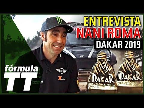 Entrevista con Nani Roma tras el Dakar 2019