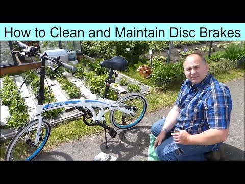 How to Clean / Maintenance  Disc Brakes on your Bicycle Bike E-Bike Scooter