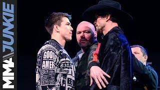 UFC Brooklyn: 'Cowboy' Cerrone, Alexander Hernandez turn up heat at press conference