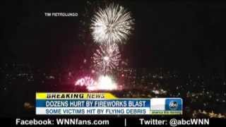 28 injured as fireworks extravaganza goes horribly wrong in simi valley california july 5 2013