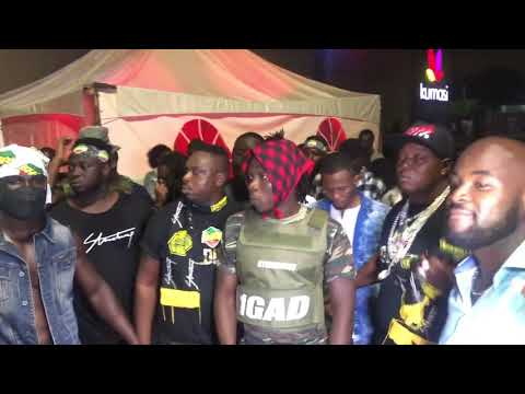 StoneBwoy Arrival At VGMA 2019 Nominees Jam