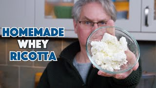 🔵 Making Ricotta (Ricottone) From Scratch || Glen & Friends Cooking